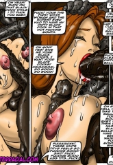 Emptiness- Illustrated interracial image 27