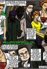 Emptiness- Illustrated interracial image 90
