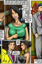Owned- Illustrated interracial image 08
