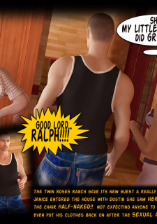 Incest3DChronicles- Ranch The Twin Roses. Part 2 image 15