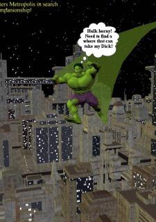 Incredible Hulk VS Wonder Woman image 2