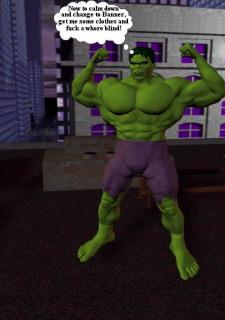 Incredible Hulk VS Wonder Woman image 4