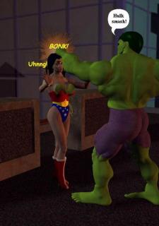 Incredible Hulk VS Wonder Woman image 14