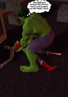 Incredible Hulk VS Wonder Woman image 15