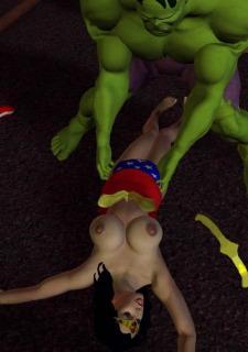 Incredible Hulk VS Wonder Woman image 16