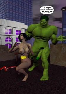 Incredible Hulk VS Wonder Woman image 18