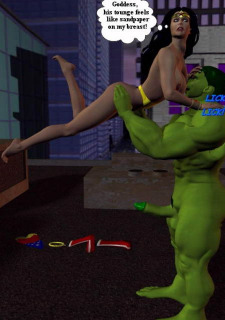 Incredible Hulk VS Wonder Woman image 21