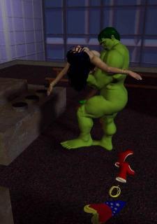 Incredible Hulk VS Wonder Woman image 41