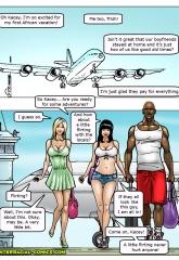 African Adventures- Interracial image 02