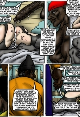 Cheated 2- illustrated interracial image 19