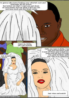 Her Wedding Day- Interracial image 3