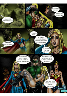 JLA-The Return of the Warlord porn comics 8 muses