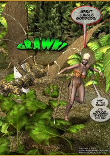 Jungle Babe and Wild Girl vs White Slavers image 21