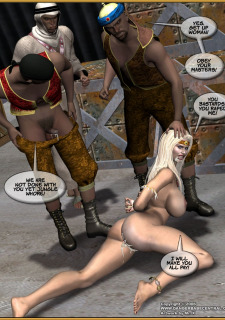 Jungle Babe and Wild Girl vs White Slavers image 41