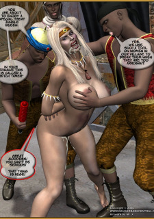 Jungle Babe and Wild Girl vs White Slavers image 45