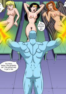 Justice Hentai- Superman,Batman image 06