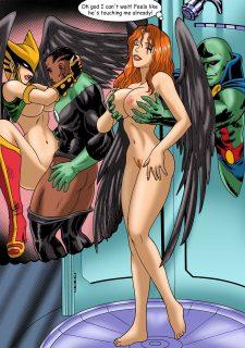 Justice Hentai- Superman,Batman image 25