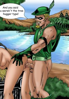 Justice Hentai- Superman,Batman image 35