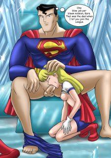 Justice Hentai- Superman,Batman image 44
