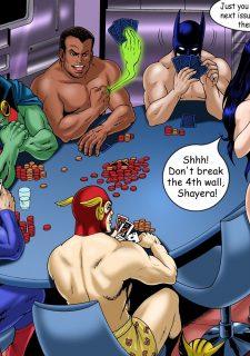 Justice Hentai- Superman,Batman porn comics 8 muses