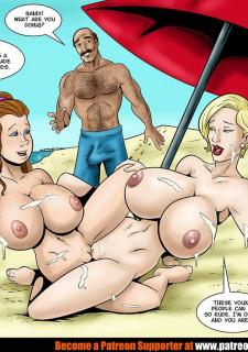 Karmagik – Randi and Olivia at the Beach porn comics 8 muses