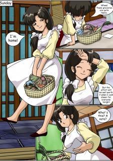 Keeping it clean- Ranma Hentai image 03