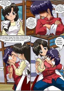 Keeping it clean- Ranma Hentai image 09