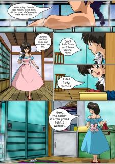 Keeping it clean- Ranma Hentai image 16