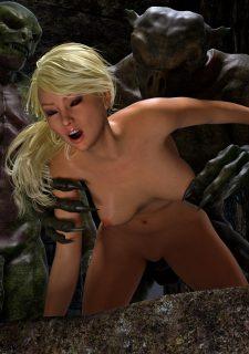 Knight Elaine- Demon Kingdom-Hibbli3D image 17