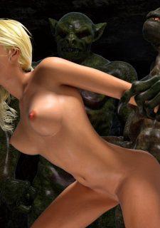 Knight Elaine- Demon Kingdom-Hibbli3D image 18