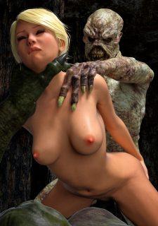 Knight Elaine- Demon Kingdom-Hibbli3D image 34