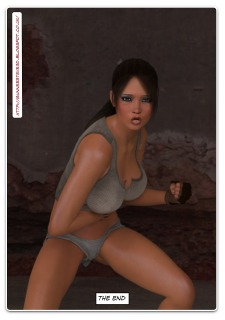 Lara Croft -The Pit porn comics 8 muses