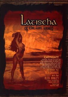 Latischa of the Lost World- Alex Horley image 15