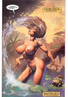 Latischa of the Lost World- Alex Horley image 27