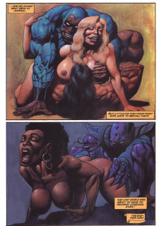 Latischa of the Lost World- Alex Horley porn comics 8 muses