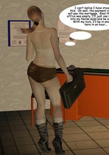 Laura Croft – Naughty Nurse 3dpinupgirls image 02