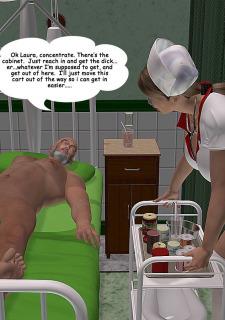 Laura Croft – Naughty Nurse 3dpinupgirls image 12