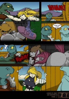 The Legend Of Jenny And Renamon 3 Yawg image 20
