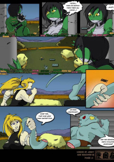 The Legend Of Jenny And Renamon 3 Yawg image 29