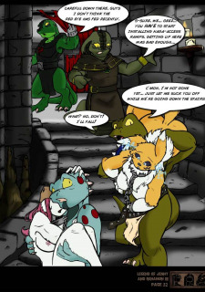 The Legend Of Jenny And Renamon 3 Yawg image 33
