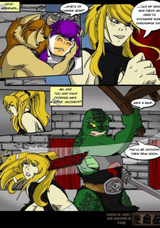 The Legend Of Jenny And Renamon 3 Yawg image 35