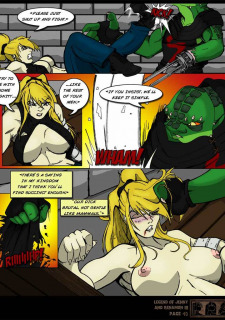 The Legend Of Jenny And Renamon 3 Yawg image 41