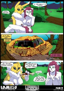 Legend of Jenny And Renamon 5 image 16