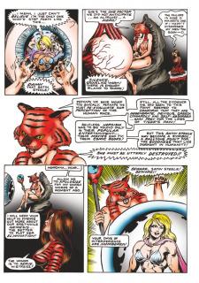 LH-Art Satin Steele 1 & 2 porn comics 8 muses