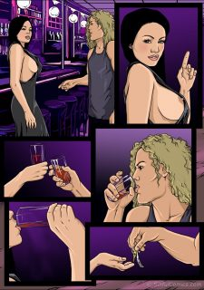 Lindsay's Nasty night out- Sinful image 2