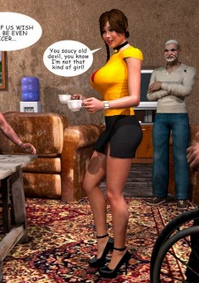 Lost Bet – Petra Helps The Elderly image 3