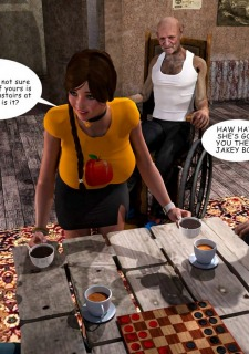 Lost Bet – Petra Helps The Elderly image 5