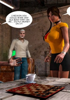 Lost Bet – Petra Helps The Elderly image 6