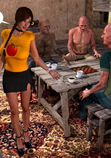 Lost Bet – Petra Helps The Elderly image 7
