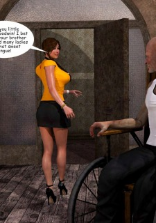 Lost Bet – Petra Helps The Elderly image 10